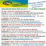 Veranstaltungen im Rahmen der Interkulturellen Woche in Wiesloch